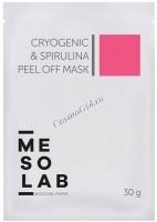 Mesolab Cryogenic & Spirulina Peel Off Mask (Маска альгинатная спирулина и криогеник), 30 г - купить, цена со скидкой