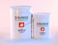 Stella Marina Скраб для тела на основе морской соли охлаждающий «Зеленый чай» -
