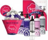 Selective Professional Color Twister Sweety color (Набор 4 ухаживающих краски + мусс 200 мл), 5 средств - купить, цена со скидкой