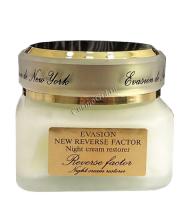 Evasion Night cream restorer Reverse Factor (Крем ночной для лица омолаживающий), 30 мл -
