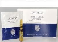 "Evasion Retinol Peel System (Желтый пилинг ""Ретинол Пил Систем""), 6 ампул x 2 мл + 6 саше x 5 мл -"