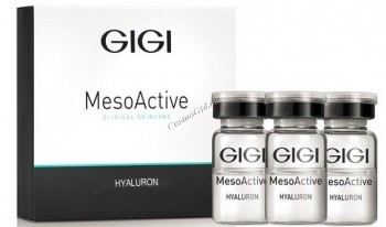 GIGI Ma hyaluron (Мезобиоревитализант. Гиалуроновая кислота >250-600 кДа + орг. кремний), 5 мл - купить, цена со скидкой