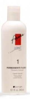 Kemon Figure perm fluida №1 (Лосьон для перманентной завивки с протамином для натуральных волос), 240 мл - купить, цена со скидкой