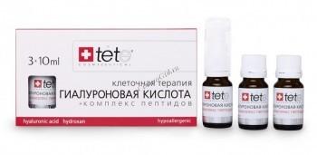 Tete Cosmeceutical Гиалуроновая кислота + комплекс пептидов, 3*10 мл - купить, цена со скидкой
