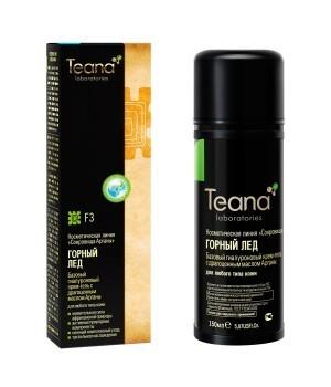 Teana/ F3 Горный лед - Базовый гиалуроновый крем-гель с драгоценным маслом Арганы для любого типа кожи, 150 мл - купить, цена со скидкой