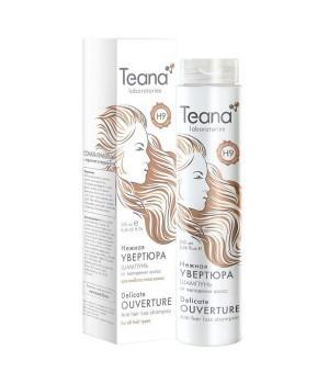 Teana / Шампунь от выпадения волос с мультивитаминным комплексом и листьями Адиантума «Нежная увертюра» (для любого типа волос), 250 мл - купить, цена со скидкой