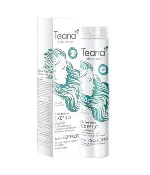 Омолаживающий и восстанавливающий шампунь для всех типов волос Солнечное скерцо 250 мл, Teana - купить, цена со скидкой