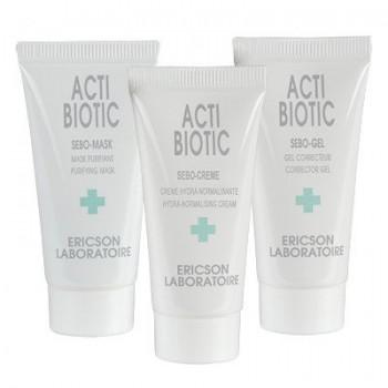 Ericson laboratoire Mini-kit acti-biotic (Мини-Кит), 3 шт по 10 мл - купить, цена со скидкой