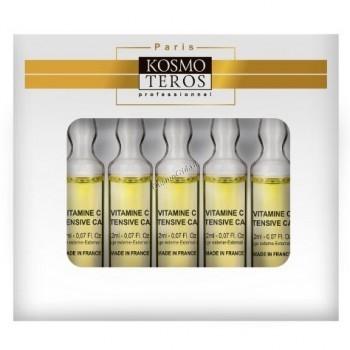 """Kosmoteros (Осветляющая """"Anti-age"""" сыворотка с пептидами и витамином С), 5 ампул по 2 мл - купить, цена со скидкой"""