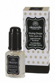 Alessandro Drying drops (Капельная сушка для лака), 30 мл - купить, цена со скидкой
