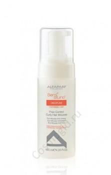 Alfaparf Sdl discipline frizz control courly hair mousse (Эко-мусс фриз-контроль), 125 мл - купить, цена со скидкой