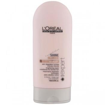 L'Oreal Professionnel Shine blonde conditioner (Смываемый уход для восстановления блеска светлых волос Шайн Блонд), 150 мл. - купить, цена со скидкой
