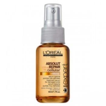 L'Oreal Professionnel Absolut repair lipidium serum (Сыворотка Абсолют липидиум для поврежденных кончиков), 50 мл. - купить, цена со скидкой