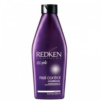 Redken Real control conditioner (Питающий восстанавливающий кондиционер), 250 мл. - купить, цена со скидкой