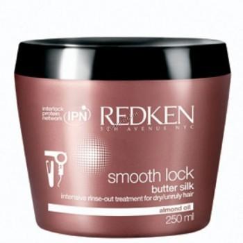 Redken Smooth lock butter silk (Маска для гладкости непослушных волос), 250 мл. - купить, цена со скидкой