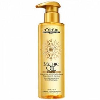 L'Oreal Professionnel Mythic oil shampoo (Шампунь для всех типов волос Митик Ойл). - купить, цена со скидкой
