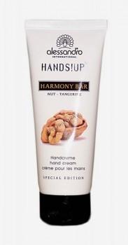 Alessandro Harmony bar nut-tangerine hand cream (Ароматерапевтический увлажняющий крем для рук Орех и мандарин), 75 мл - купить, цена со скидкой