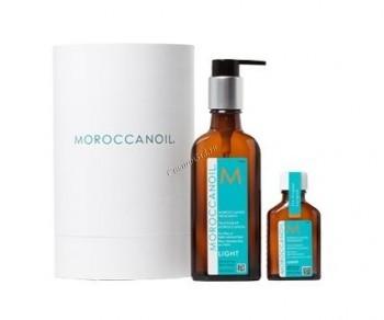 Moroccanoil Набор масел Cylinder, 2 средства. - купить, цена со скидкой