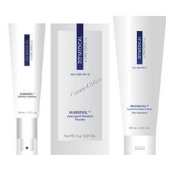 ZO Skin Health Постпроцедурная система восстановления кожи, 3 препарата. - купить, цена со скидкой