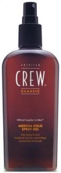 American crew Classic medium hold spray gel (Спрей-гель для волос средней фиксации), 250 мл. - купить, цена со скидкой