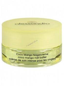 Alessandro Coco mango nail butter (Питательный крем для ногтей с маслом манго и кокоса), 30 г - купить, цена со скидкой