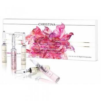 Christina muse cell shield ampoules (Ампулы с препаратом для восстановления защитного барьера кожи) 10 ампул по 2 мл - купить, цена со скидкой