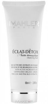 Simone Mahler Eclat-detox cleansing fluid (Флюид для удаления макияжа), 100 мл. - купить, цена со скидкой