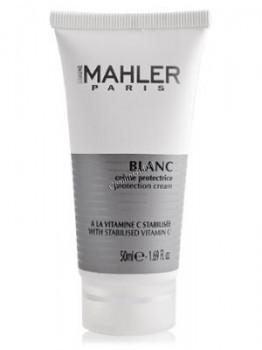 Simone Mahler Blanc Creme Protectrice (Защитный крем с витамином С и UV-фильтром), 50 мл. - купить, цена со скидкой