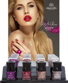 Alessandro Glitz&glam (Набор лаков для ногтей «Блеск и гламур») - купить, цена со скидкой