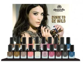 Alessandro Born to be wild (Набор лаков для ногтей «Рожденный быть диким»)  - купить, цена со скидкой