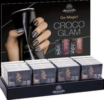 Alessandro Croco glam (Набор лаков для ногтей «Крокодиловый гламур»)   - купить, цена со скидкой