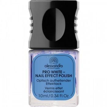 Alessandro Prm pro white nail effect polish (Отбеливающий лак для ногтей), 10 мл - купить, цена со скидкой