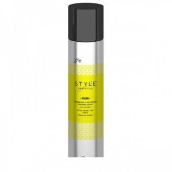 Kaaral Style perfetto Fixer strong hold protective finishing spray (Защитный лак для волос сильной фиксации), 400 мл. - купить, цена со скидкой