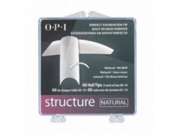 OPI  типсы Structure Натуральные, 24 шт.  - купить, цена со скидкой