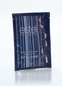 Estel Ultra Blond De Luxe  Пудра для обесцвечивания 30гр - купить, цена со скидкой