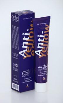 Estel Deluxe Anti-Yellow Effect (Крем-краска для волос), 60 мл. - купить, цена со скидкой