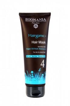 EGOMANIA Маска с маслом аргана для сухих и окрашенных волос, 250 мл - купить, цена со скидкой