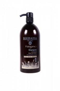 EGOMANIA Шампунь с маслом ши для густых, вьющихся волос, 1000 мл - купить, цена со скидкой