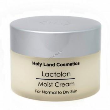 Holy Land Lactolan moist cream for dry skin (Увлажняющий крем для сухой кожи), 250 мл. - купить, цена со скидкой