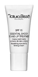 Natura Bisse Essential Shock Eye & Lip Treatment Крем для ухода за сухой кожей в области глаз и губ SPF 15 15 мл - купить, цена со скидкой