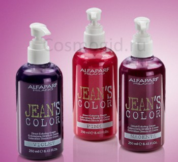 ALFAPARF Красящий бальзам фиолетовый JEAN`S COLOR PURPLE, 250 мл - купить, цена со скидкой