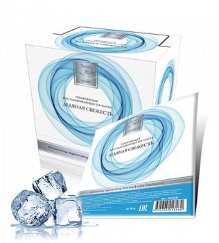 Beauty Style Icy freshness moisturizing&regenerating spa mask (Холодная увлажняющая spa маска «Ледяная свежесть»), 1 шт - купить, цена со скидкой