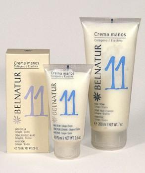 Belnatur Защитный питательный крем для рук с коллагеном и эластином  MANOS CREAM BELNATUR 200 мл - купить, цена со скидкой