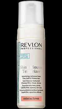REVLON professional Мусс для блеска и объема Shine Mousee Texturizer 150мл. - купить, цена со скидкой