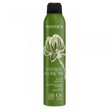 Selective Professional natural flowers nutri keratin (Регенерирующий спрей мгновенного действия), 150 мл - купить, цена со скидкой