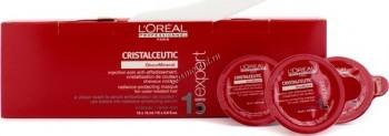 L'Oreal Professionnel Cristalceutic mask (Маска для защиты цвета окрашенных волос Кристалсьютик), 15 шт по 15 мл. - купить, цена со скидкой