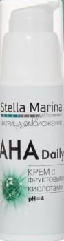 Stella Marina Крем с фруктовыми кислотами «AHA Daily», 50 мл - купить, цена со скидкой