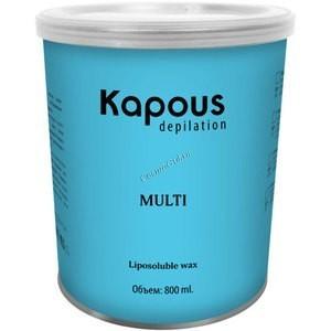 Kapous Жирорастворимый воск с ароматом с микромикой в банке, 800мл. - купить, цена со скидкой