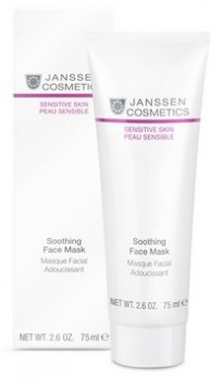 Janssen Soothing face mask (Успокаивающая смягчающая маска «Скорая помощь») - купить, цена со скидкой