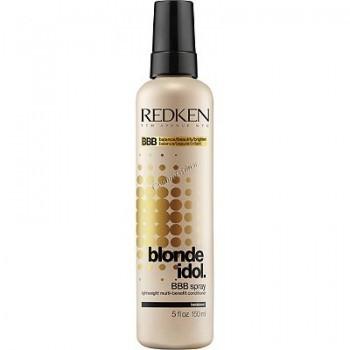 Redken Blonde idol BBB spray (Легкий многофункциональный спрей-уход для волос блонд), 150 мл. - купить, цена со скидкой